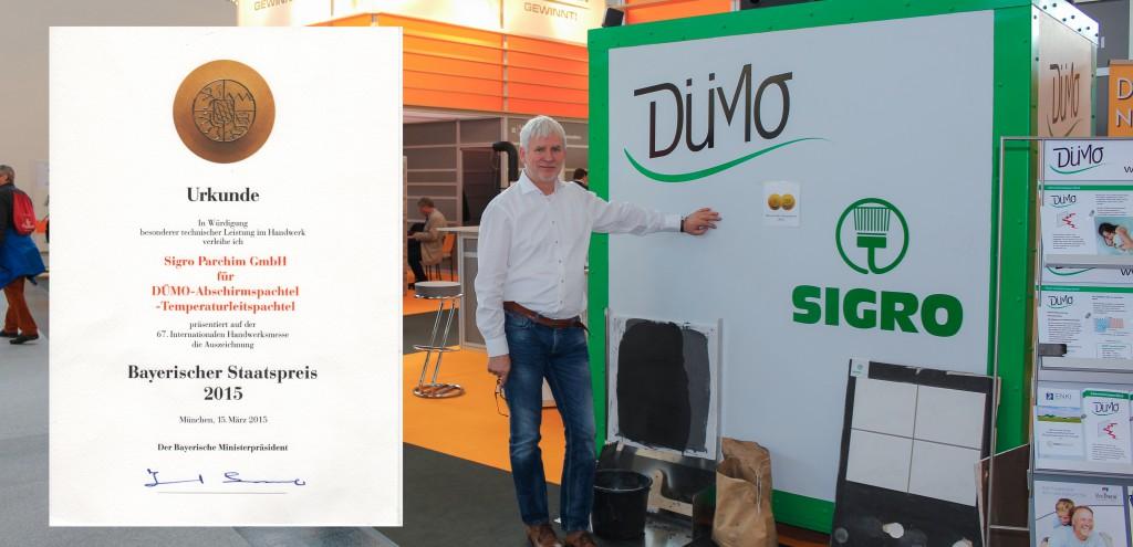 DÜMO, Bayrischer Staatspreis 2015